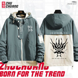 Anime Arknights Cosplay Unisex Coats Long Sleeve Jackets Juvenile Casual M-3xl4