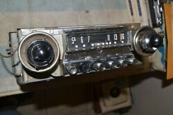 Ford By Sylvania 1cf Am Pushbutton Radio 1951 51 Car Pro Serviced