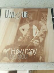Unique Ft J-luv Remix Cd Single How May I Do You 9tk Indie Randb