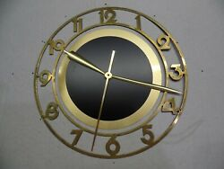 Vintage George Nelson Electric Wall Clock With A Lanshire Movement Xl7