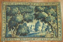 Antique French Tapestry 18th Century Size 9'10''x7'2''