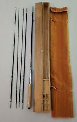 Rare New Vintage Sun Tadaworks Convertible 3 Weights 8' Fly Rod 3-pc Tokyo Japan
