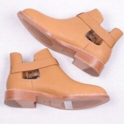 Liebeskind Designer Camel Ankle Boot Leather Booties Women 38 $119.00
