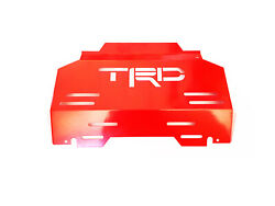 Steel Front Engine Skid Plate For Toyota Hilux Fortuner 2015-2020 Trd Style