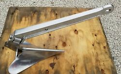 Cqr 60lbs/27kg Hinged Plow Boat Anchor 316 Stainless Steel