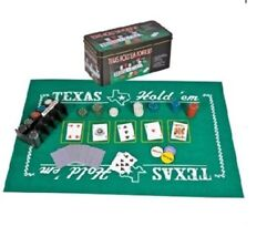 Texas Hold'em Poker Set All-n-1 Indoor And Outdoor Gambling Board Game Tournaments