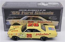 Junior Johnson 1965 Holly Farms Ford Galaxie 1/24 Univ Of Racing Diecast Signed