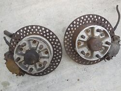 Porsche 356 C / Sc Front Spindles,calipers And Hubs