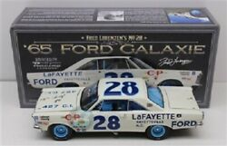 Fred Lorenzen 1965 Lafayette Ford Galaxie 1/24 University Racing Diecast Signed
