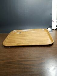 A W Root Beer Collectibles Wood Grain Looking Tray Date Is 2-76 Camtray Usa
