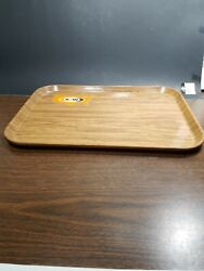 A W Root Beer Collectibles Wood Grain Looking Tray Date Is 6-73 Camtray Usa