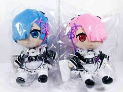 C97 Comic Market Comiket Gift Plush Doll Re Life In Different World Rem & Ram