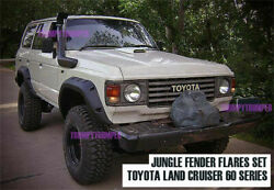 Jungle Off-road 4x4 Fender Flares Arches For Toyota Land Cruiser 60 Series Fj60