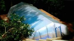 In-ground Pool Cover - Fabrico Sun Dome- 16 Ft X 40 Ft Dome- Usa Made