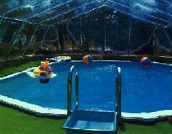 In-ground Pool Cover - Fabrico Sun Dome- 20 Ft X 32 Ft Dome- Usa Made