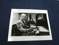 1992 Framingham Officers Diane Healy And David Waters Vintage Glossy Press Photo