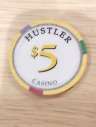 Hustler Casino Vintage Vault 5.00 Chip Great For Any Collection