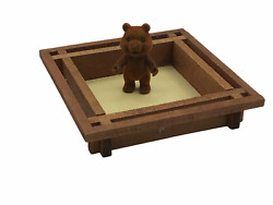Barenwald Forest Families Sandbox VINTAGE from German Line Calico Critters