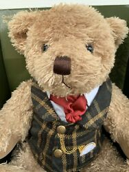 Harrods First Annual Teddy Bear 2007 Charles Mint Unopened In Original Box Rare