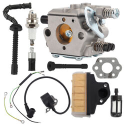 Carb Carburetor + Ignition Coil + Air Filter For Stihl 025 Ms230 Ms210 Ms250 Usa