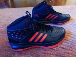 Menand039s Adidas Hard Court Basketball Sneakers | Black Menand039s Size 13