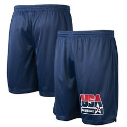 Mitchell And Ness Authentic 1992 Dream Team Usa Basketball Practice Shorts Xl
