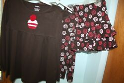 3 PC GYMBOREE SIZE 5-6 SWEET TREATS BROWN PINK VALENTINES CANDY TOPS  $14.95