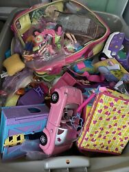 Polly Pocket Dolls Clothes Shoes And Accessories
