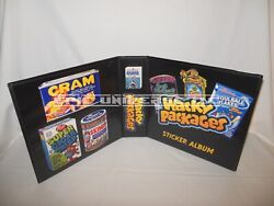 Custom Made Wacky Packages 2 Inch Trading Card Album Binder Graphics Only