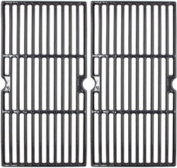 Cast Iron Gas Grill Cooking Grates 18 3/16 2-pack Set For Charbroil 463675517