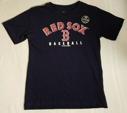 MLB Boston Red Sox Youth Boys Size XS 45 Navy T-Shirt Genuine Merchandise NWOT $9.25