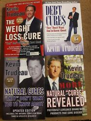Kevin Trudeau 4 Book Bundle The Weight Loss Cures Debt Cures Natural Cures