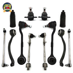 Front Control Arms Ball Joints Tie Rods Suspension For Bmw E90 Xi Xdrive Kit 12