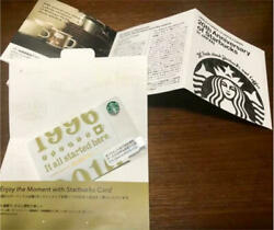 Starbucks Japan Card Ginza 20th Anniversary Limited Edition Rare Pin Not Shave