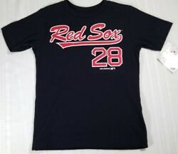 MLB Boston Red Sox T-Shirt Youth Boys Size XS (45) J.D. Martinez #28 NEW NWT $9.50