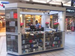 Mall Kiosk JEWELRY CELL-PHONE PERFUME Business Opportunity