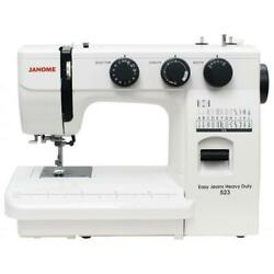 Janome Easy Jeans And Heavy Duty 523 Sewing Machine. Works On 110v And 220v