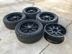 5 Dale Earnhardt 22x10 Inch Rims With Toyo Tires 8x6.5 Dodge Chevy