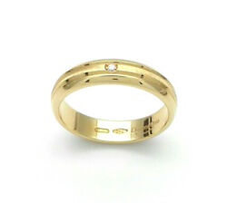 Engagement Ring  Faith Yellow Gold 18 CT with Diamonds From GIOIELLERIA AMADIO