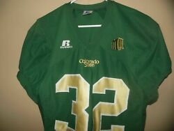 Colorado State Rams 32 Game Used Football Jersey