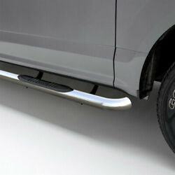 Aries 3 Round Side Bar Kit Stainless Steel For Toyota Tacoma 05-20 Extended Cab