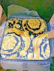 Versace Vanity Charger Plate Square 13andrdquo Service Dish New 400