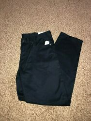 Brooks Brothers Chinos Size 32x30 Slim Straight Fit Navy Blue