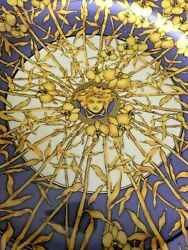 500 Versace Service Plate Medusa Floralia Discontinued 12andrdquo New Collectible