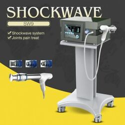 Radial Shockwave Machine Electric Body Massager Muscle Pain Relief Ed Home Use