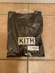 BRAND NEW KITH FIX THE SYSTEM TEE MONDAY PROGRAM BLACK XL IN-HAND *SHIPS FAST* $89.99