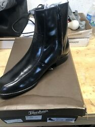 Florsheim Mens Boot Size 10.5 3E Black