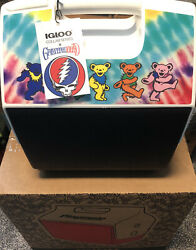 Grateful Dead Igloo Beach Cooler NWT Limited Edition DANCING BEARS TIE DYE 7 Qt $125.00