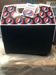 Grateful Dead Igloo Beach Cooler NWT Limited Edition STEAL YOUR FACE 7QT STEALIE $79.99