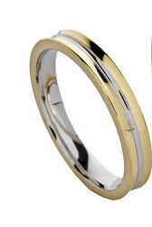 Engagement Ring  Faith White Gold And Yellow 18 CT Size 25 By GIOIELLERIA